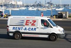E-Z Rent-a-Car (So Cal Metro) Tags: mercedes airport san sandiego mercedesbenz shuttle ez van carrental lindberghfield sprinter rentacar shuttlebus courtesybus ezrentacar