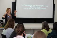 How to Impact Community Engagement With Data Design, Workshop at #learndoshare #NYC (swissmixz) Tags: do thenewschool learndoshare