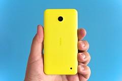 blue yellow nokia smartphone windowsphone lumia... (Photo: Janitors on Flickr)