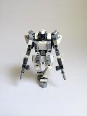 Excalibur Dual SMGs (funnystuffs) Tags: metal robot lego full panic driver custom mecha excalibur mech lambda moc arbalest