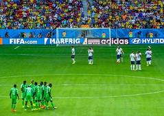 France x Nigeria (Jorge Hamilton) Tags: fifa copa cup world mundo 2014 brasilia brasil brazil frança france nigeria estadio nacional national stadium mané mane garrincha jorgehamilton brandao brandão flickr photo foto fotografia photography