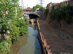 Bologna Canale Navile Sostegno della Bova (1) (Paolo Bonassin) Tags: italy bologna channel channels emiliaromagna canali navile canalenavile sostegni