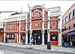 Cine Doré, Madrid (España) (ipomar47) Tags: madrid santa street españa cinema film calle spain pentax library sala cine isabel nacional modernist k5 letras dore modernista filmoteca