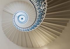 The Tulip Staircase (Garen M.) Tags: city london thames architecture river landscape unitedkingdom greenwich nikkor1424mm nikond800 lightroom5 nikcolorefexpro2 photoshopcc analogefexpro2 pwarchitecture