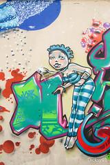Street-ART (Dicksy93) Tags: street urban paris france art wall seine canon painting eos graffiti paint outdoor couleurs tag peinture graff 75 mur iledefrance bombing ville 19me 650d img9432 dicksy93 pressionisme