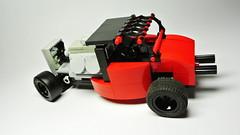Hot Rod (hajdekr) Tags: car toy automobile lego technic hotrod vehicle roadster