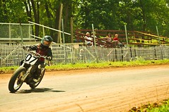 Mom and Gabe Watch Ezra Race (Overpass Light Brigade) Tags: bike wisconsin race track racing motorcycle ezra 07 aztalan brusky