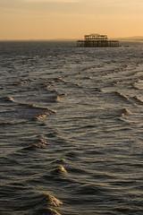Ripple (Sam_C_Moore) Tags: ocean sea water sussex pier brighton ripple westpier southcoast