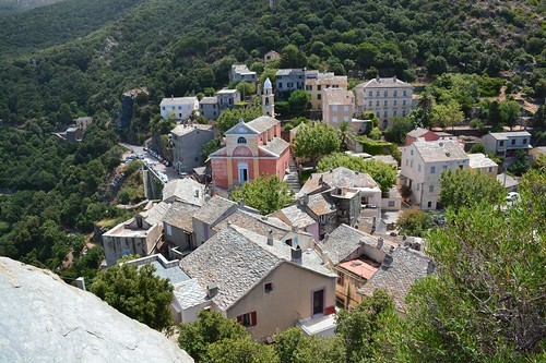 View on Nonza at Cap Corse (Corsica, France 2014)