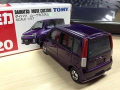 Tomica Daihatsu Move Custom (l3l4l1l0) Tags: move perodua daihatsu kenari