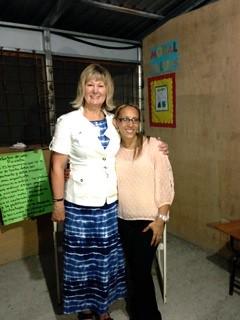 Cheryl & translator Helen