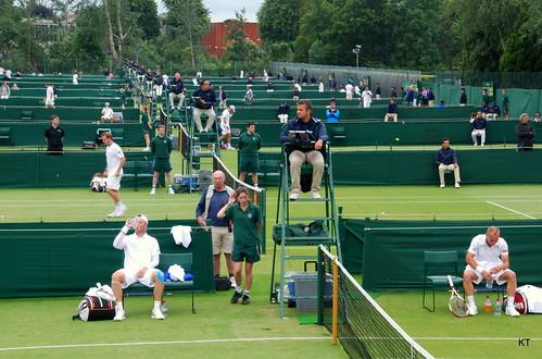 Steve Darcis - Wimbledon qualifying