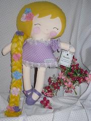 RAPUNZEL (MariaR) Tags: doll boneca rapunzel dollsanddaydreams mariar