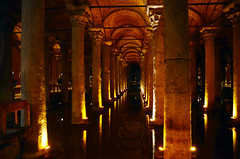 Basilica Cistern (Prairie_Wolf) Tags: turkey istanbul eurasia constantinople basilicacistern travelphotography emperorjustiniani rachelmackayphotography