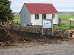 Endurbætur á kirkjugarði 2006