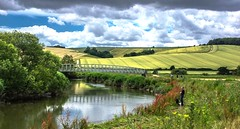 Sunday afternoon (Barry.Turner.Photography) Tags: england cloud storm water clouds landscape bury westsussex britain sony united great kingdom alpha chichester lightroom amberly riverarun 65a barryturner