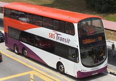 SBS3657L-Service 51 (SG Transport Pics) Tags: volvo transit sbs wrightbus b9tl wegii