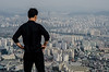 Urban growth, Seoul, South Korea (by N. Murray)