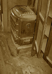 Wood Burning Stove & China Cabinet - Bodie Ghost Town Collection (Life_After_Death - Shannon Day) Tags: life china california county wood old city winter snow cold west art history abandoned sepia silver carson photography death gold mono town mine day desert cabinet antique nevada ghost 1800s dream freezing eerie sierra mining collection burning negative shannon burn 49 rush dreams western historical after bodie temperature artifact tone miner artifacts 1900s bodieghosttown lawless lifeafterdeath 49er shannonday lifeafterdeathstudios lifeafterdeathphotography shannondayphotography shannondaylifeafterdeath