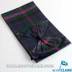 Clan Baird Silk Tartan Sash