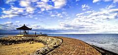 sanur beach scenery in the afternoon - bali - indonesia (baligooglebook) Tags: bali beach landscape nikon tokina1224 tokina sanur nikond90 nikond7000