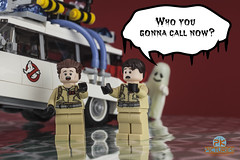Who you gonna call now ? (Peter von Kappel) Tags: car lego fear ghost minifig ideas ghostbusters busters minifigure afol whoyougonnacall legoideas legominifigures legoghostbusters