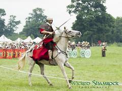 _70Z1398 (Wicked Shamrock Photography) Tags: uk england history tourism battle knights reenactment reenactor englishheritage kelmarshhall historylive