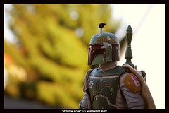 Golden Hour (Cellblog1138) Tags: starwars bobafett toyphotography eos450d