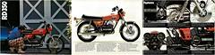 YAMAHA Brochure RD350 RD350B 1975 Sales (Rickster G) Tags: two classic vintage stroke 350 400 70s sales brochure spec rd 250 stroker twinshock vjm