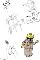 nazi_lego_dickflute (VLCERS) Tags: art illustration artwork artist lego drawing nazi drip doodle illustrator doodles vlcers iheartvlcers