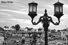 (abbas.iter) Tags: blackandwhite amazing lamps