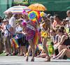 "Vancouver Pride Parade 2014 - 0344 (gherringer) Tags: summer music canada sunglasses vancouver fun happy bc pride parade heels colourful fabulous umbrellas vanpride ""west end"""