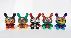EyeSkull Serie (WuzOne) Tags: painting toy diy geek handmade vinyl kidrobot collectible custom acrylics dunny arttoy medicom designertoy vinyltoy munny artoy blindbox eyeskull wuzone