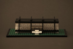 entrance (d2hiriyuu) Tags: chicago glass architecture modern buildings hall illinois technology lego steel famous style s institute architect r iit crown van der ludwig mies archi rohe eurobricks