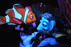 Finding Nemo: The Musical (JazzieRomano.) Tags: ocean nemo stage disney musical puppets squirt wdw waltdisneyworld walt crush dory marlin findingnemo waltdisney