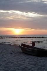 Sunset (Tobse.Photo) Tags: sunset sea sun beach strand canon germany deutschland eos see meer sonnenuntergang sundown balticsea baltic ostsee ahrenshoop 30d zingst fischland ozean dars