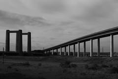 Sheppey B/W (NovemberAlex) Tags: bridge landscape mono kent sheppey swale