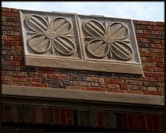 Roofline: Architectural Detail, Clara B. Arthur School--Detroit MI (pinehurst19475) Tags: city school building architecture michigan detroit architects brickandstone malcomsonandhigginbotham brickstonearchitecture malcomsonhigginbotham namedafterprople clarabarthur clarabarthurelementaryschool
