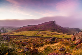 September mist over Hen Cloud