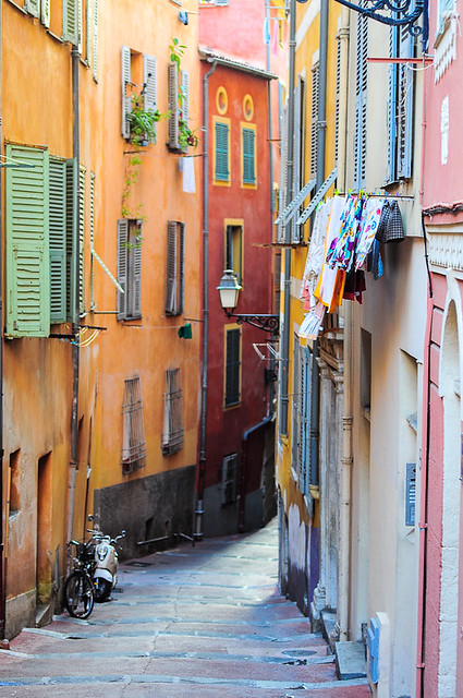 street city france color nice cotedazur linen oldhouse wash provence oldtown