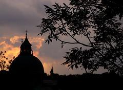 IMG_6141 Salzburg: Dom (Traud) Tags: sunset salzburg silhouette austria österreich sonnenuntergang dom kuppel domkuppel