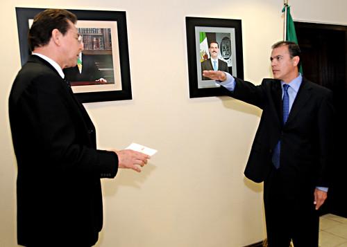El Gobernador Guillermo Padrés encabezó la reunión del grupo de coordinación en materia de Seguridad Pública.