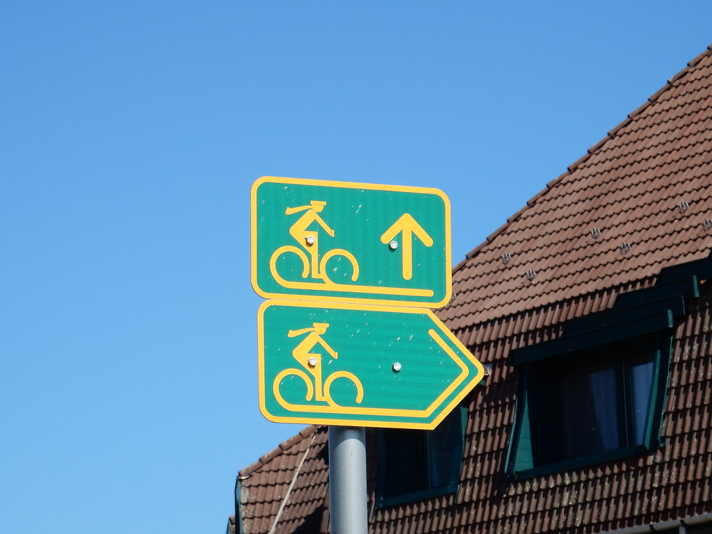 Hungarian cycle route