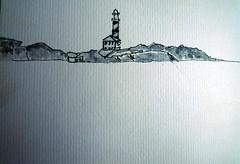 2014.Menorca.sep.Faro de Favaritx (joseluisgildela) Tags: dibujos menorca playas grafito