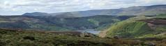 Ladybower Panorama from Stanage (Dazzygidds) Tags: panorama derbyshire darkpeak photostitch peakdistrictnationalpark ladybowerreservoir epicderbyshire viewfromstanage moorlandbeauty
