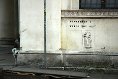 Sometimes I watch you sleep (bburger2) Tags: italy dog pee computer word paperclip vicenza
