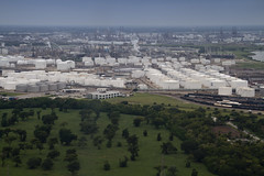Industrial Beauty (Trudy -) Tags: industry nature texas oil pasadena elevation tanks