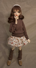 IMG_2667 (rustedcouture) Tags: shirt ball for sweater doll sale skirt bjd etsy remy legwarmers snowdrop leggings jointed spiritdoll