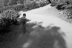 the road back from tonnara di scopello (gorbot.) Tags: summer blackandwhite bw sicily lightroom canoneos5d tonnaradiscopello carlzeisszf50mmplanarf14 vscofilm