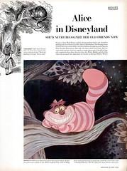 1951 Life Magazine 01 - alice in disneyland (Tom Simpson) Tags: vintage alice disney aliceinwonderland 1951 aliceindisneyland